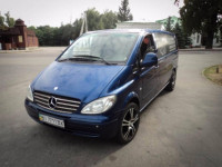 Пассажирские перевозки Mercedes Vito 8 мест
