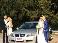 Bmw на свадьбу