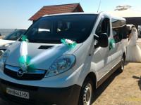 Пассажирские перевозки комфортабельным микроавтобусом Opel Vivaro