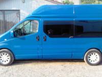 Пасажирские перевозки по Украине и Европе в комфортабельном автомобиле  Renault Trafic .