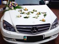 Mercedes C клас білий