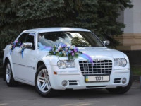 Chrysler 300C белого цвета!