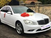 Прокат авто на весілля Мерседес Крайслер Тойота та інші седани.