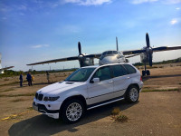 BMW X5 White matt