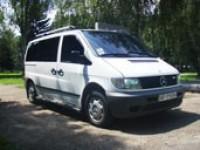 Пассажирские перевозки Mersedes Vito 8 мест по Украине