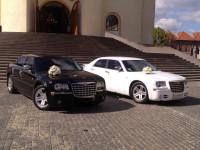 Оренда авто!Chrysler 300 c.(чорний+білий)