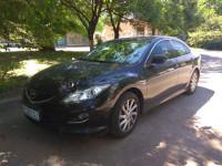 Аренда авто с водителем, трансфер, Mazda 6 седан черный