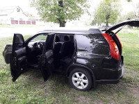 Аренда авто Nissan X-Trail с водителем Кременчуг
