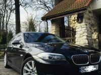 Оренда авто з водієм Львів. Бізнес клас BMW 530,F10