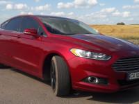 Оренда авто Ford Fusion USA 2016 з водієм Умань