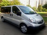 Аренда автомобиля с водителем ОPEL VIVARO КРАМАТОРСК.