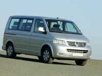 Аренда микроавтобуса Volkswagen T5 с водителем Львов