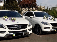 Кортеж Mercedes ML 250/ Land Cruiser Prado/ Audi Q7/ MINI Countryman/ BMW X1