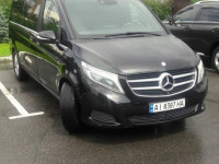 Mercedes Vclass  на заказ с водителем Киев