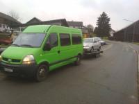 Аренда микроавтобуса Renault master с водителем Тернополь