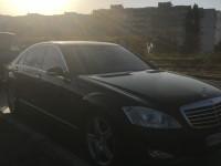 Аренда авто Mercedes w221 s550 с водителем в Киеве
