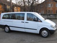 Оренда мікроавтобуса Mersedes Vito з водієм Берегове, Мукачево, Ужгород