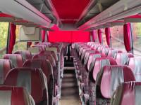 Пассажирские перевозки автобусом MERCEDES BENZ TRAVEGO. Аренда автобуса. Пассажирские перевозки автобусом MERCEDES BENZ TRAVEGO (46 мест).