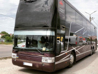 Аренда автобуса с водителем на 81 место Львов, Европа, Россия, Украина.