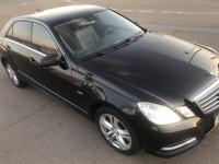 Аренда авто Mercedes e class с водителем в Киеве