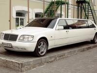 Заказ и аренда лимузина Мерседес S600 с водителем Сумы