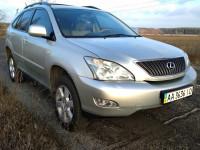 Аренда авто на свадьбу Киев и перевозки по городу с водителем Lexus RX 300