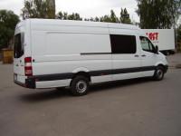 Заказ и аренда грузопассажирских микроавтобусов с водителем