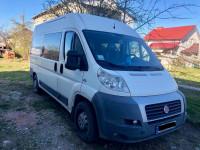 Оренда мікроавтобуса з водієм Fiat Ducato вантажо-пасажир 6 місць+вантажний відсік Жовква Львів