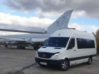 аренда микроавтобуса Mercedes sprinter с водителем Днепродзержинск